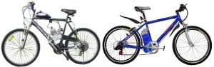 Motorized Bicycles – Gas v Electric
