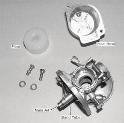 Carburetor fuel jet