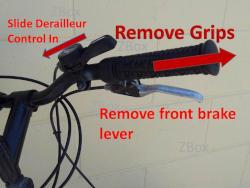 Bicycle handlebar grip