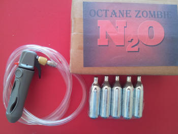 Nitrous Oxide for bicycle motors