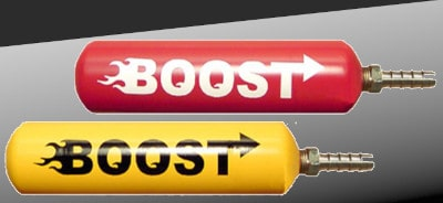 Boost bottles for bicycle motors