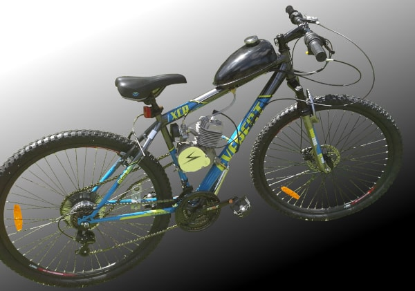 Everest bicycle with motor