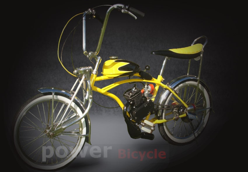 Motorized Huffy Dragster bicycle