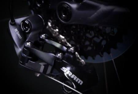 SRAM Eagle ASX electric gear shifter