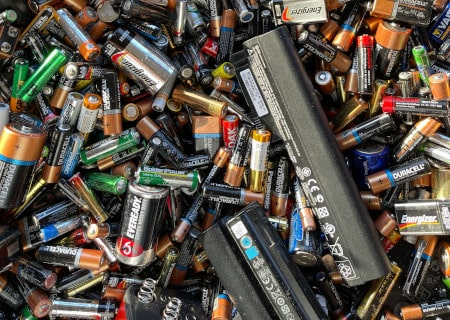 Selection of batteries