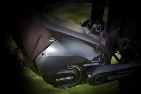 Shimano mid-drive electric motor