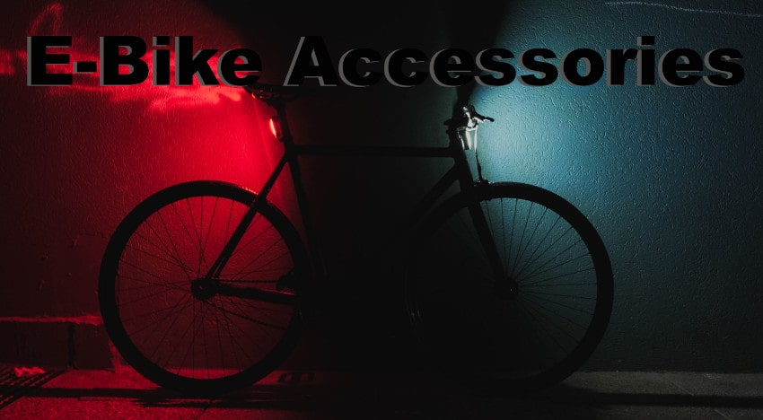 Accessories for electric bikes