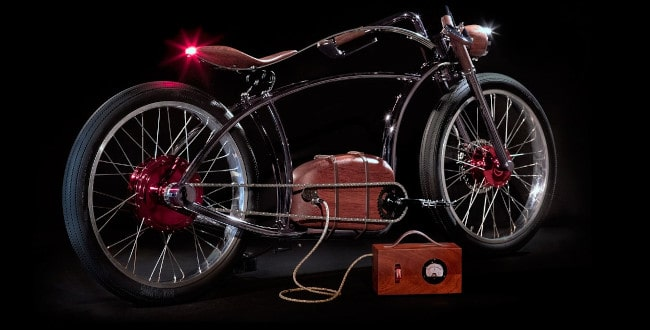 Electric motorized bicycle