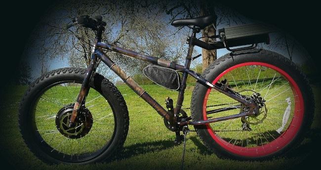 Rust 'rats' fat tire bikes!