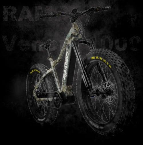 Rambo Venom 1,000W fat tire electric bike
