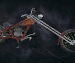 Rat bike motorized bicycles